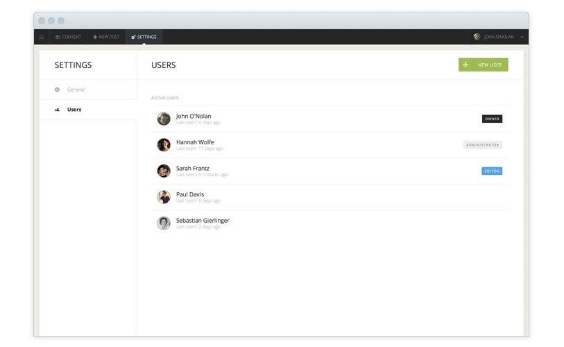Blog Platform Ghost 0.5へ :Ghost0.5 MSR1